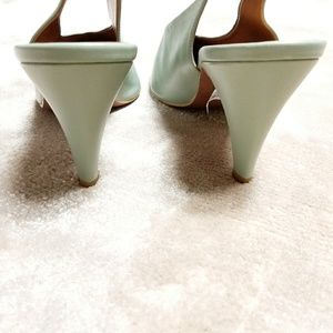 24266bc25d1 Topshop Shoes - NEW Mint Green Jemma Pointed Slingbacks